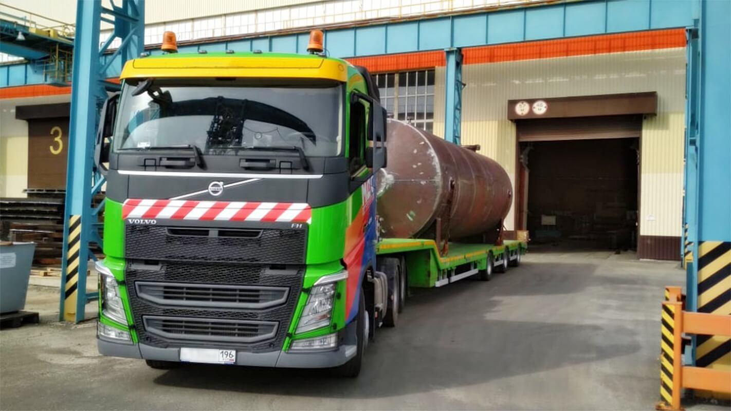 Перевозка жидкостей в цистернах до 16 метров массой до 6 тонн